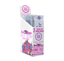 High Hemp Organic CBD Wraps Bare Berry (BOX)