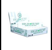 High Hemp Rolling Papers 1/4 (BOX)