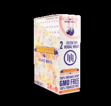 High Hemp Organic CBD Wraps Hubba Bubba (BOX)