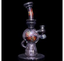 Casta Glass Ball Rig - Dichro over Jet Black