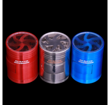 """Cleave Crusher V4 - 1.5"""" 4 Piece Clear Top Grinder"""