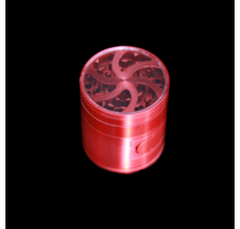 """Cleave Crusher V4 - 2.5"""" 4 Piece Clear Top Grinder"""