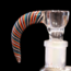 MK Glass MK Glass Wigwag Horn Screen Bowl #4