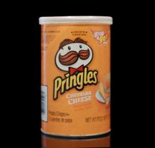 Pringles Cheddar Cheese Stash Can 2.5 Oz