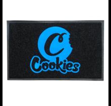 """Cookies PVC Vinyl Logo Mat 19"""" x 31"""""""