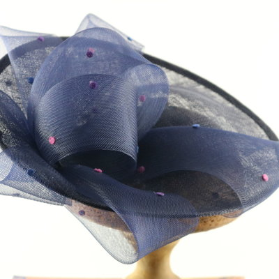 GIOVANNIO SPOT & BOW FASCINATOR