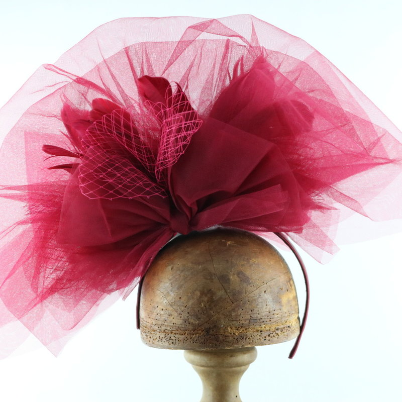 Something Special TULLE COUTURE FASCINATOR