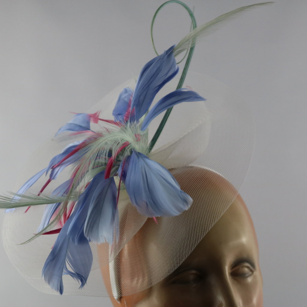 Something Special FEATHER FLOWER FASCINATOR