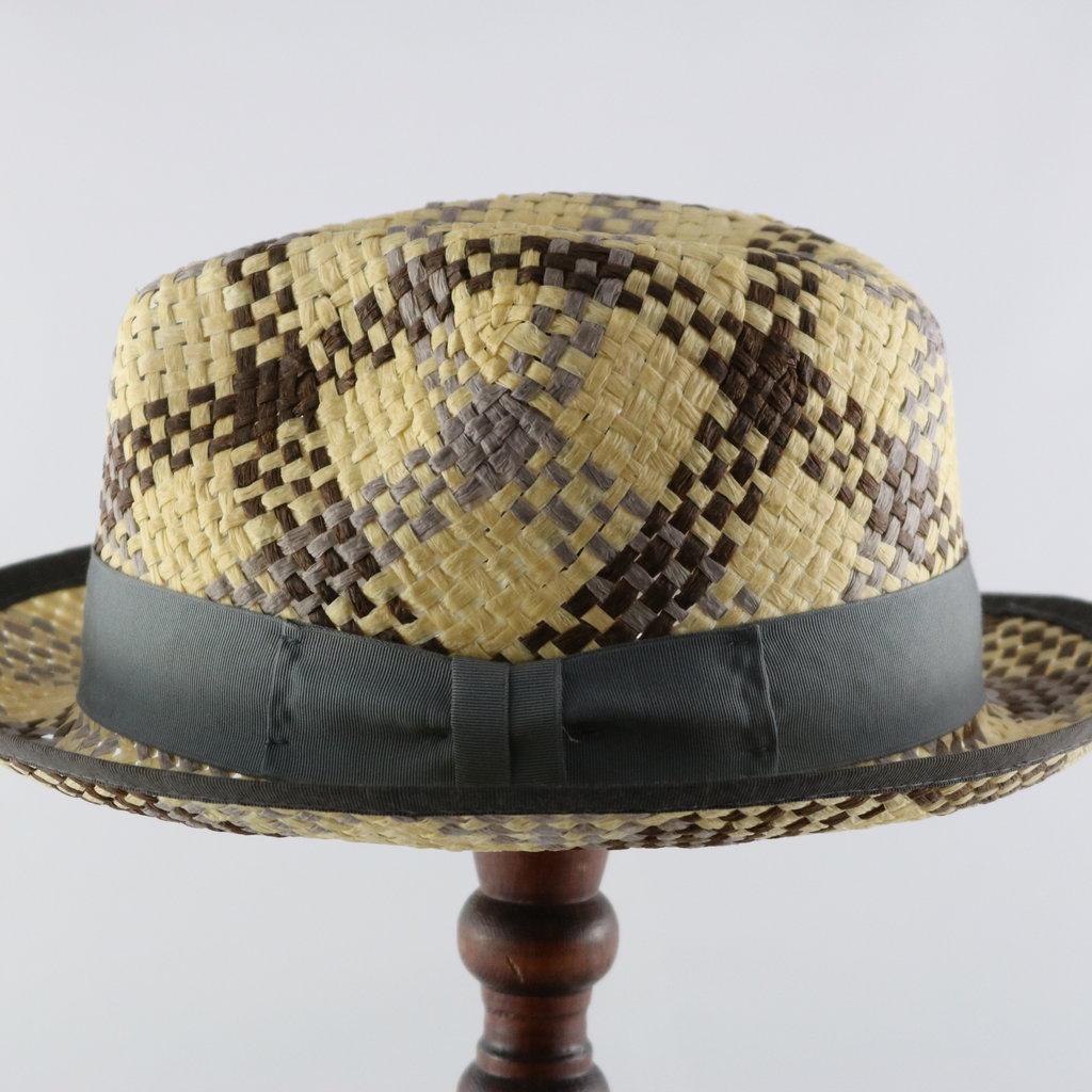 MAGILL HAT ALEXANDRIA PLAID PAPER HAT