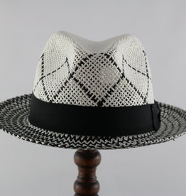 MAGILL HAT CRISCROSS PAPER STRAW HAT