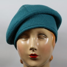 LILLIE & COHOE BOILED WOOL BERET