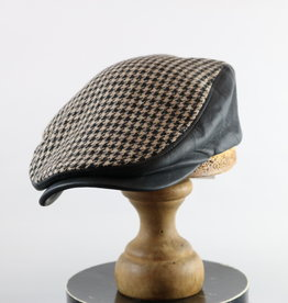 CROWN CAP HOUNDSTOOTH IVY CAP