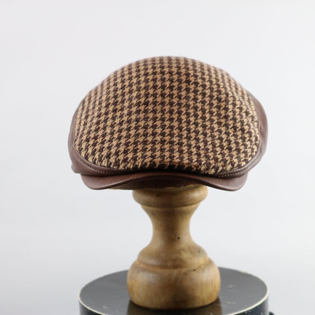 CROWN CAP HOUNDSTOOTH IVY CAP