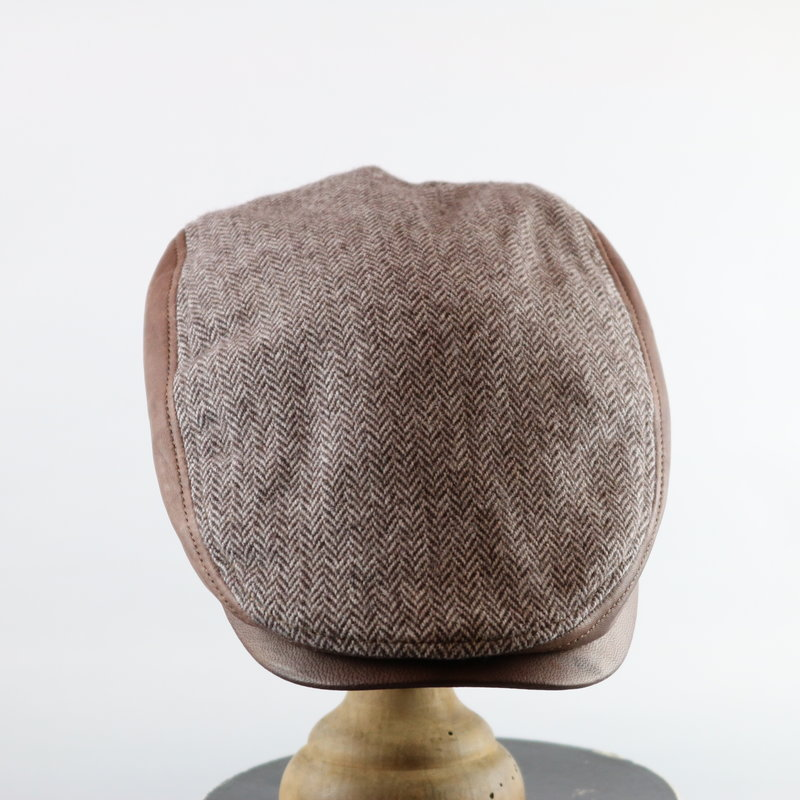 CROWN CAP HERRINGBONE IVY CAP