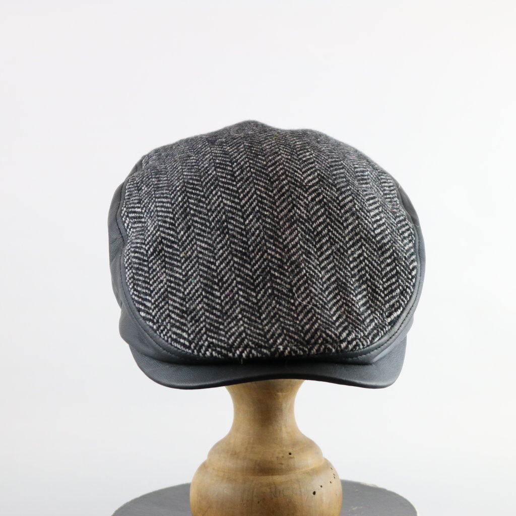 CROWN CAP HERRINGBONE IVY CAP