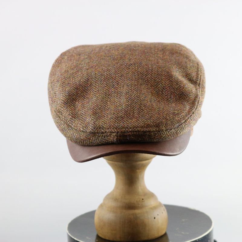CROWN CAP HARRIS TWEED DRIVER CAP