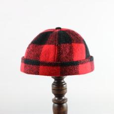 CROWN CAP WATCHMAN CAP BUFFALO CHECK