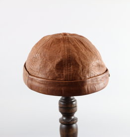 CROWN CAP WATCHMAN CAP LEATHER