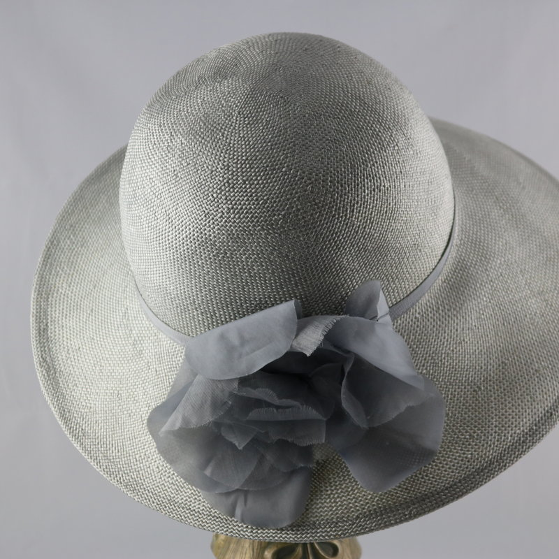 CANADIAN HAT LARGE BRIM BAKU STRAW HAT