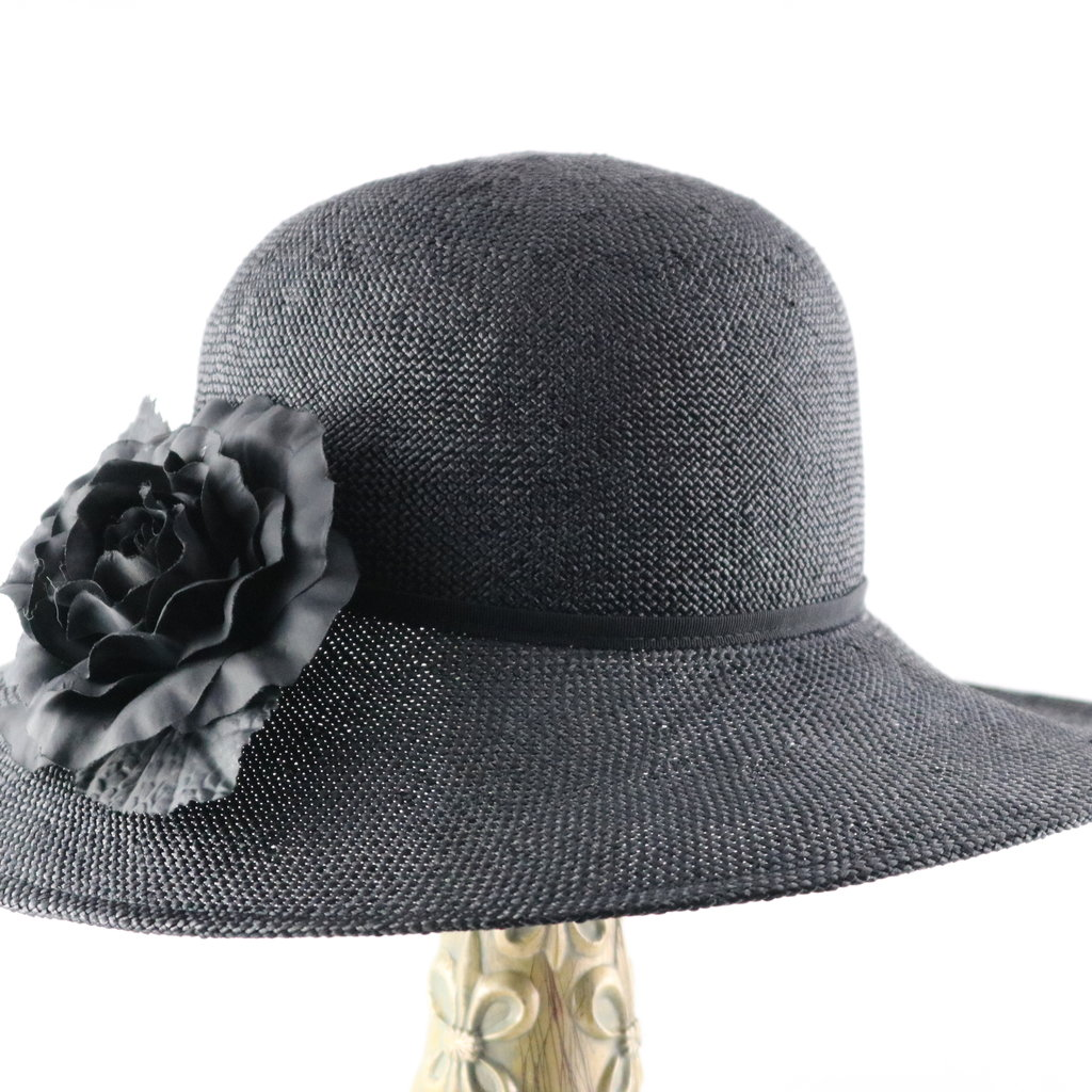 CANADIAN HAT LARGE BRIM BAKU STRAW HAT