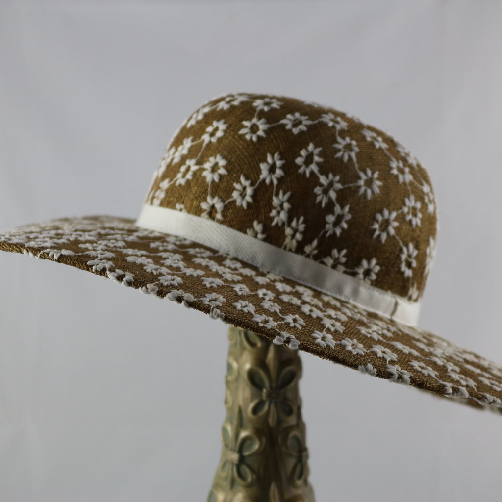 CANADIAN HAT DAISY FLOWER LARGE BRIM