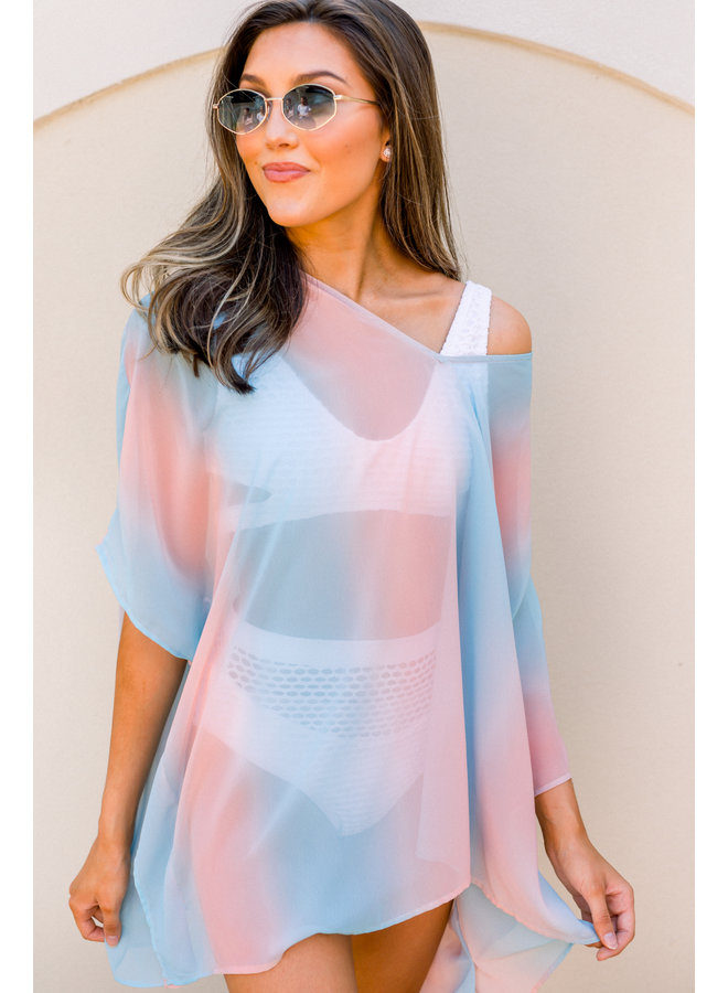 Sweeter Than Cotton Candy Coverup