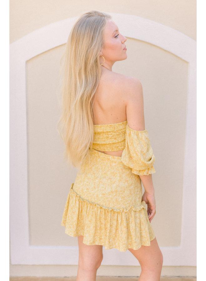 Sunshine Floral Skirt