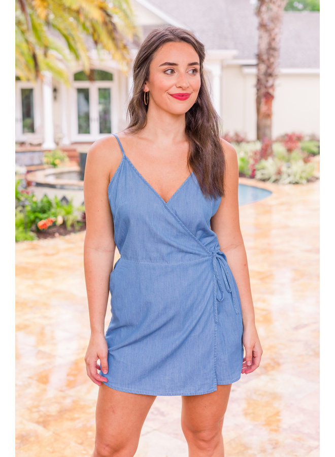 Courtney Denim Romper