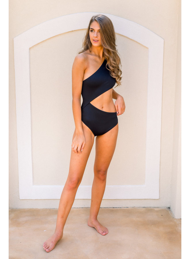 Celine Black One Piece