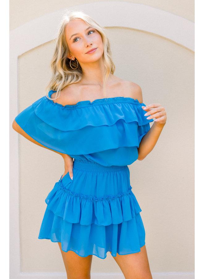 Turquoise Kiera Dress