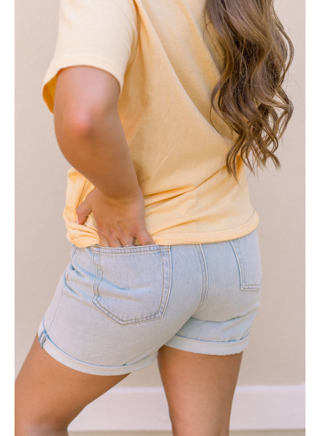 Throwback Denim Shorts