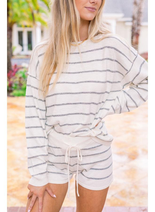 Cozy Up Striped Set