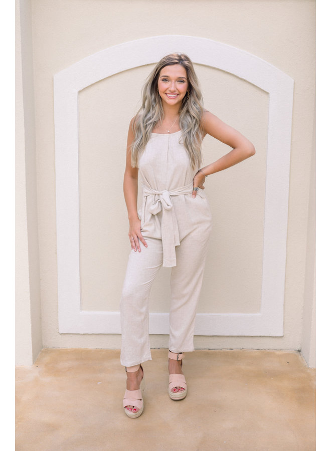 Sandy Tones Jumpsuit