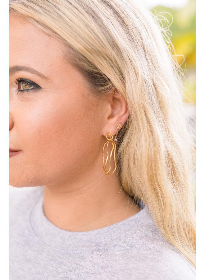 Hoop up Earrings