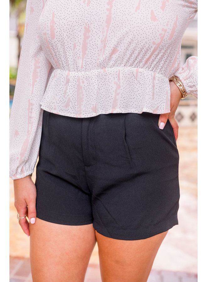 Belt it Out High waisted shorts