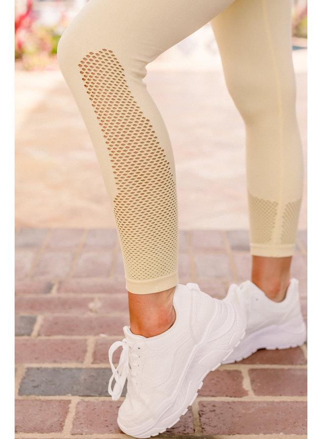 Athletic Mesh Legging