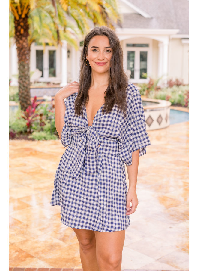 Connie Gingham Dress