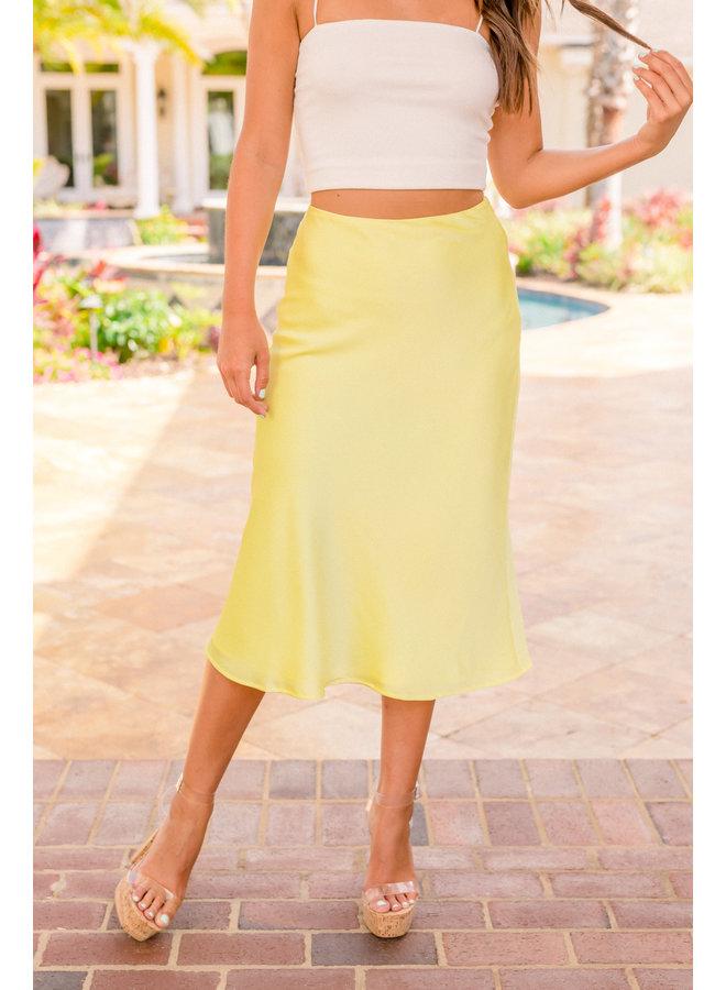 Lemon Midi Skirt