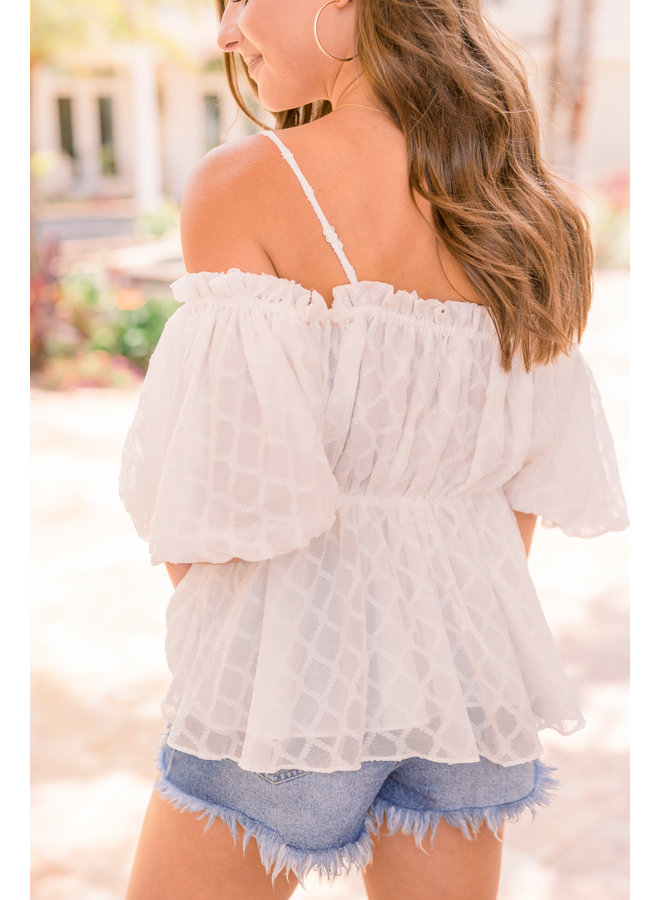 Cold Shoulder Detail Top