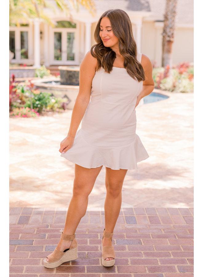 Bella Ruffle Bottom Dress