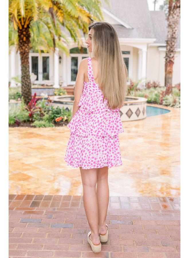 Spotlight Ruffle Dress