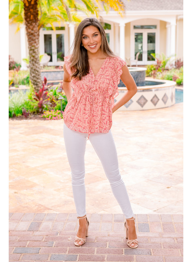 Somebody to Love Floral Top