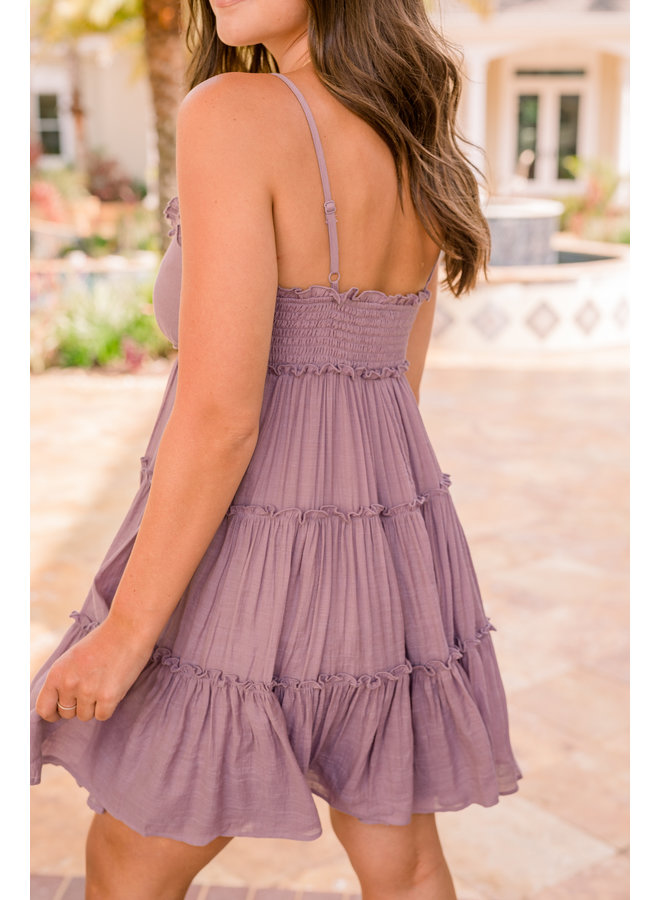 Ruffle Flowy Dress