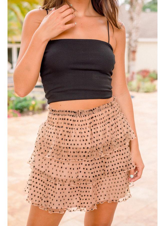 Mandy Ruffle Skirt