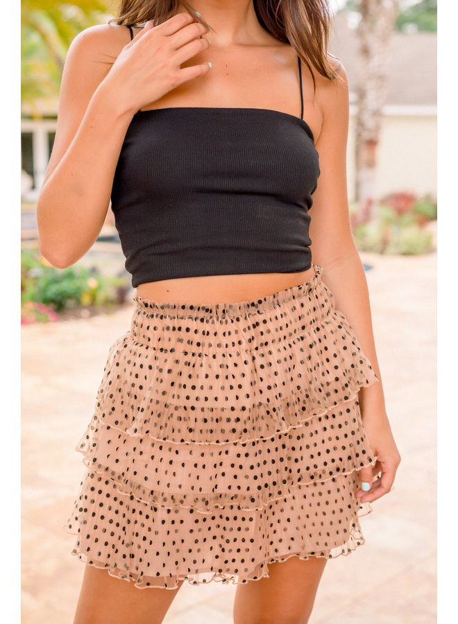 Black Brooke Crop
