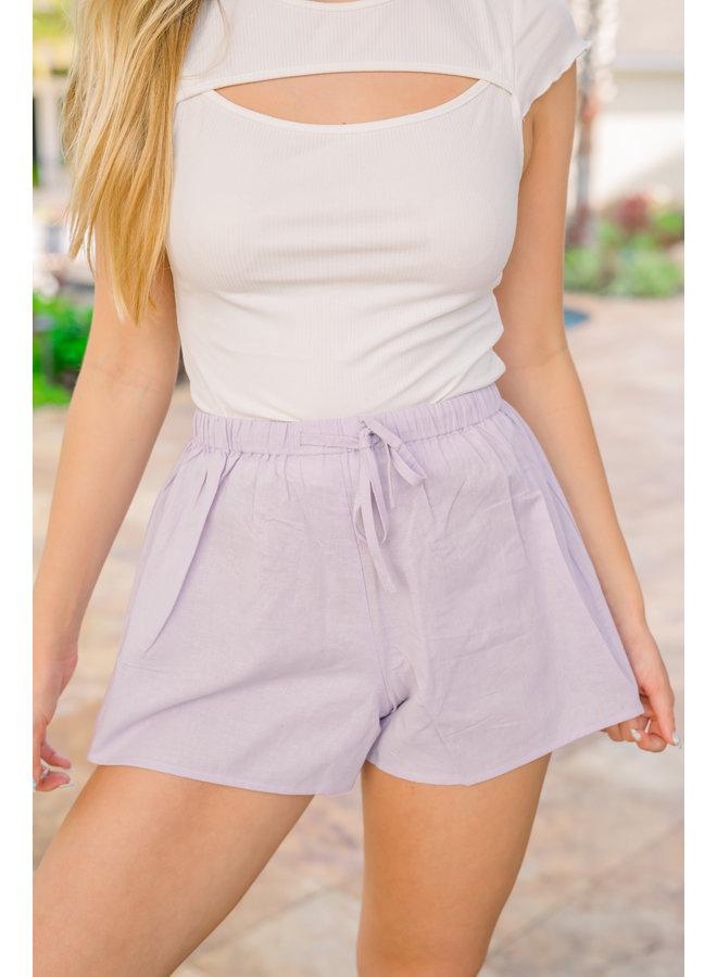 Lilac Harlow Shorts