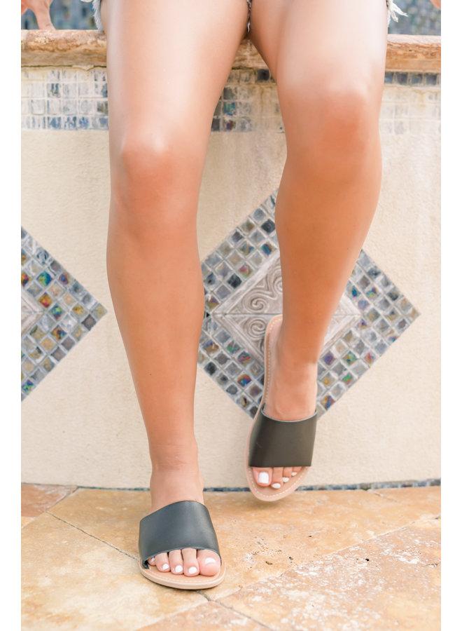 Black Cabana Sandal