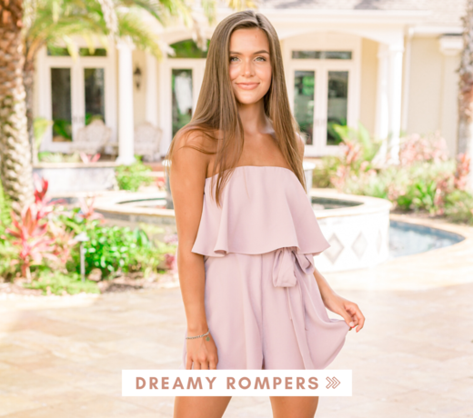Rompers + Sets