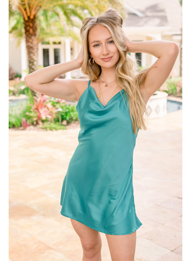 Yasmin 90's Mini Dress