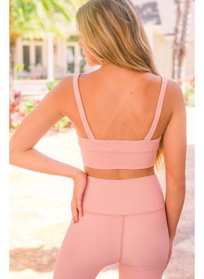 Leah Top Pink